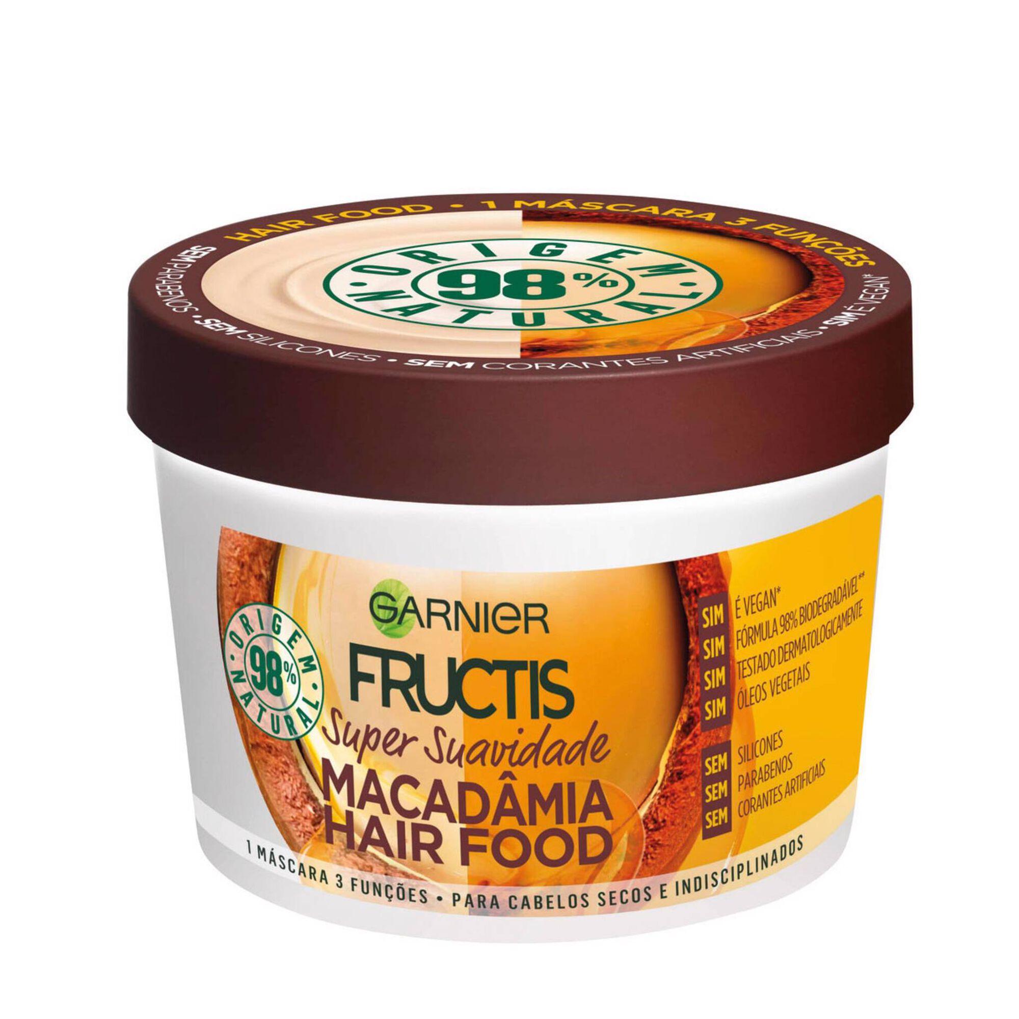 Máscara Cabelo Fructis Macadâmia Hair Food