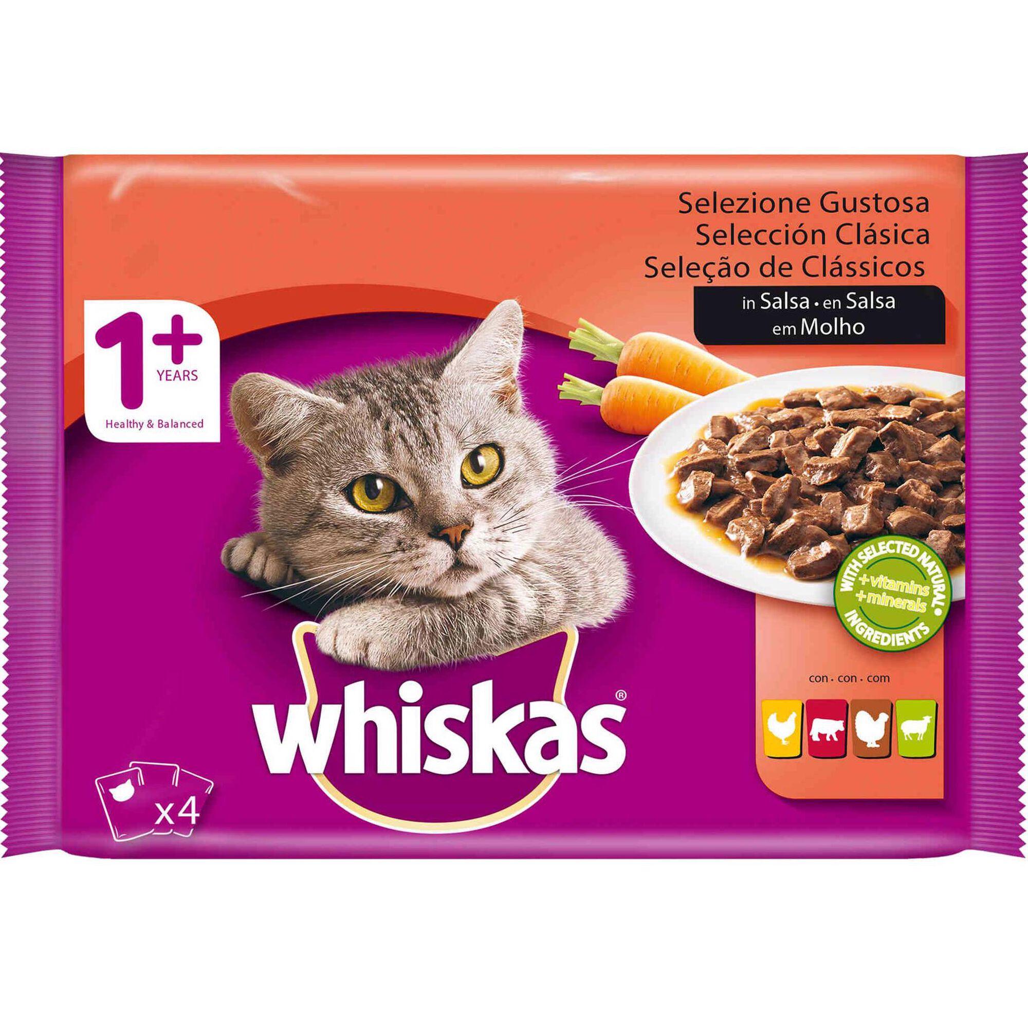 Comida Húmida para Gato Adulto Carne Saquetas, , hi-res