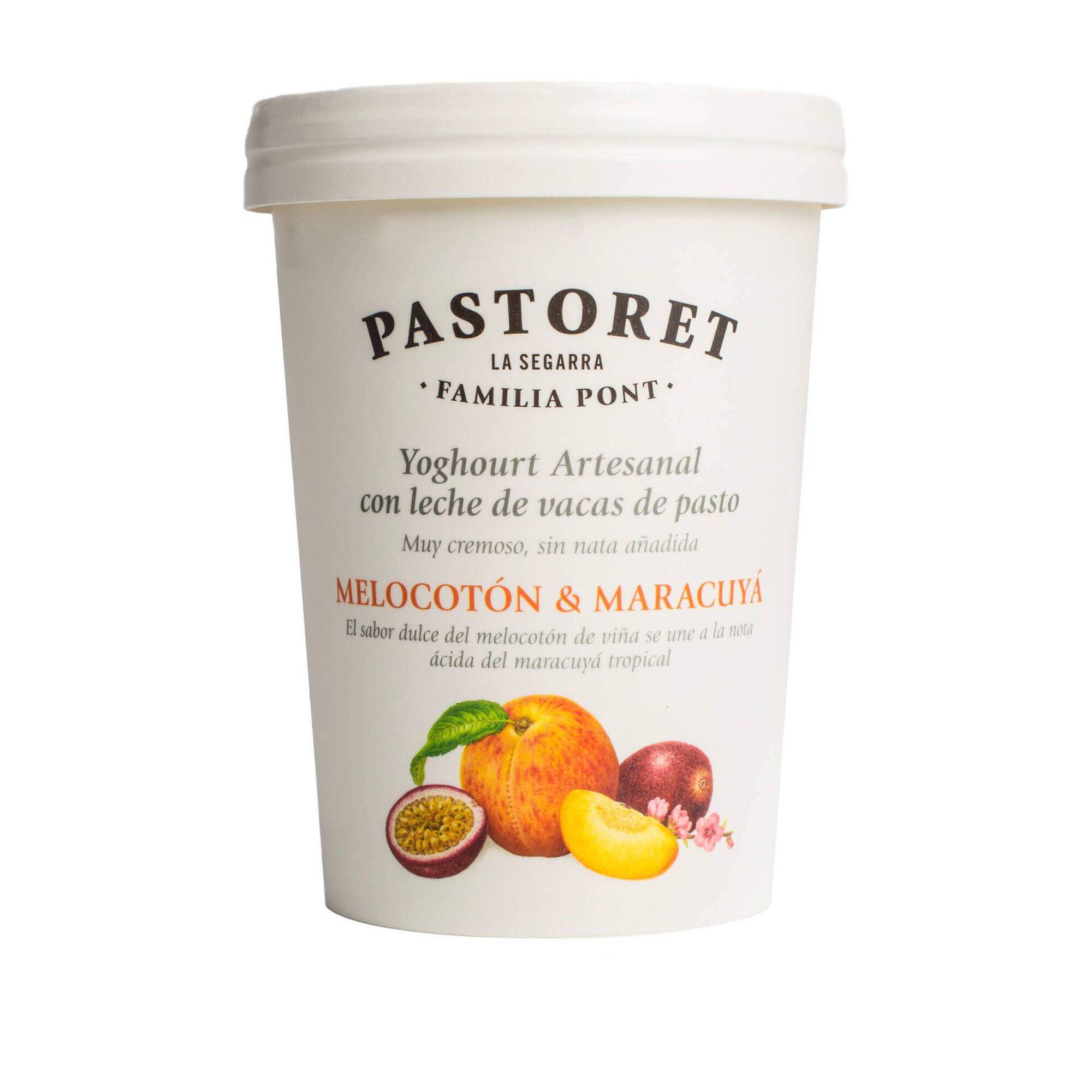Iogurte Artesanal Aroma Pêssego e Manga