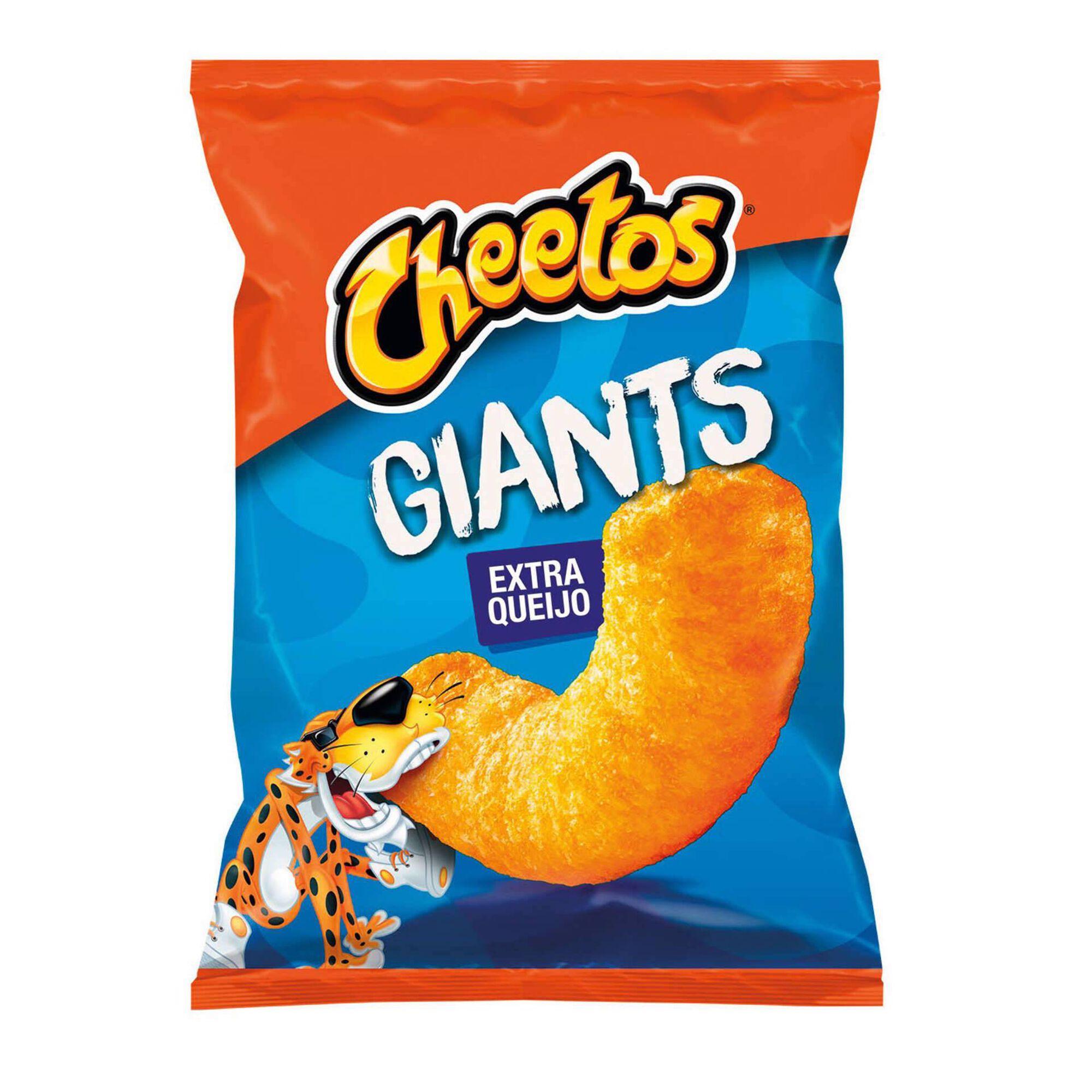 Snacks Milho Giants Extra Queijo