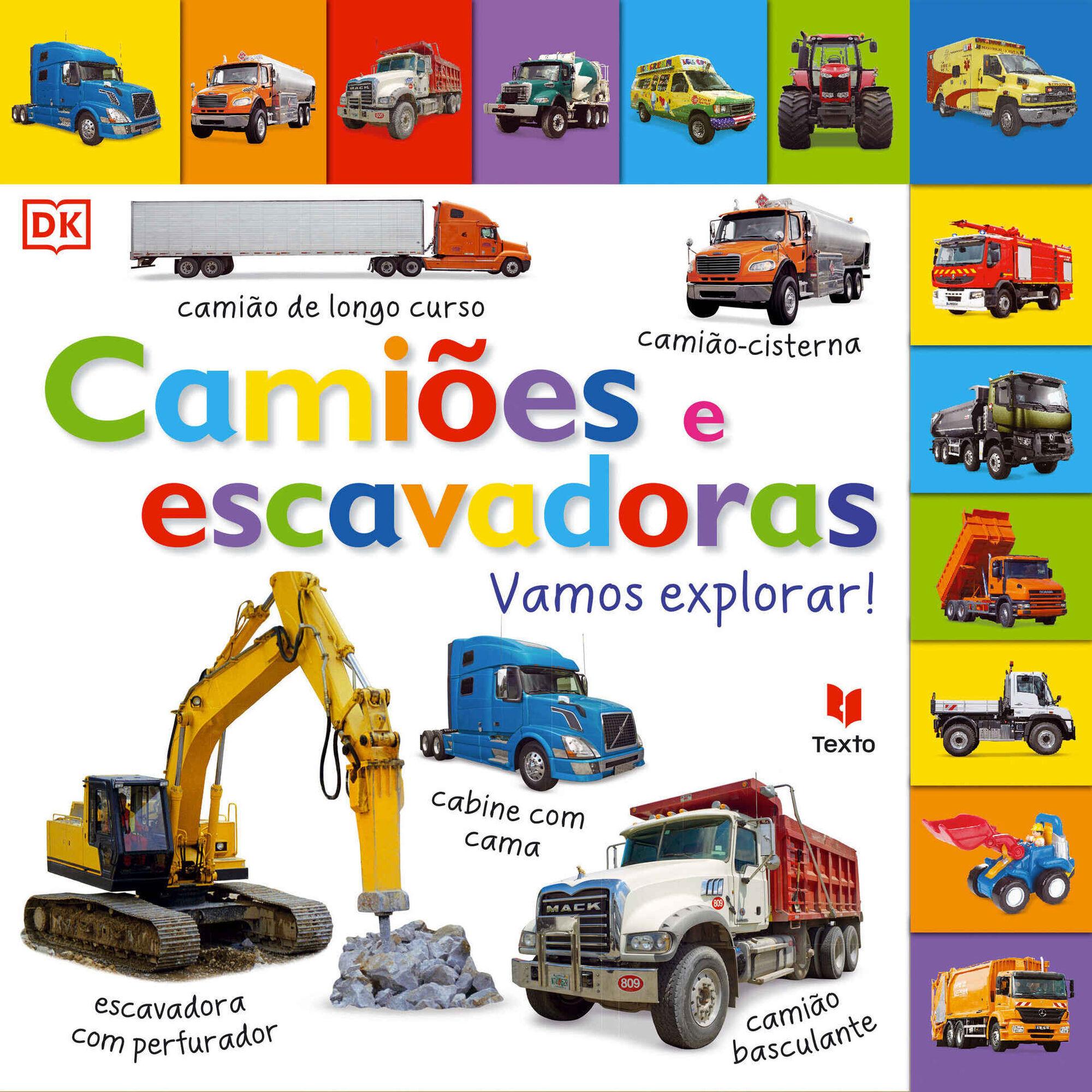 Camiões e Escavadoras – Vamos Explorar!