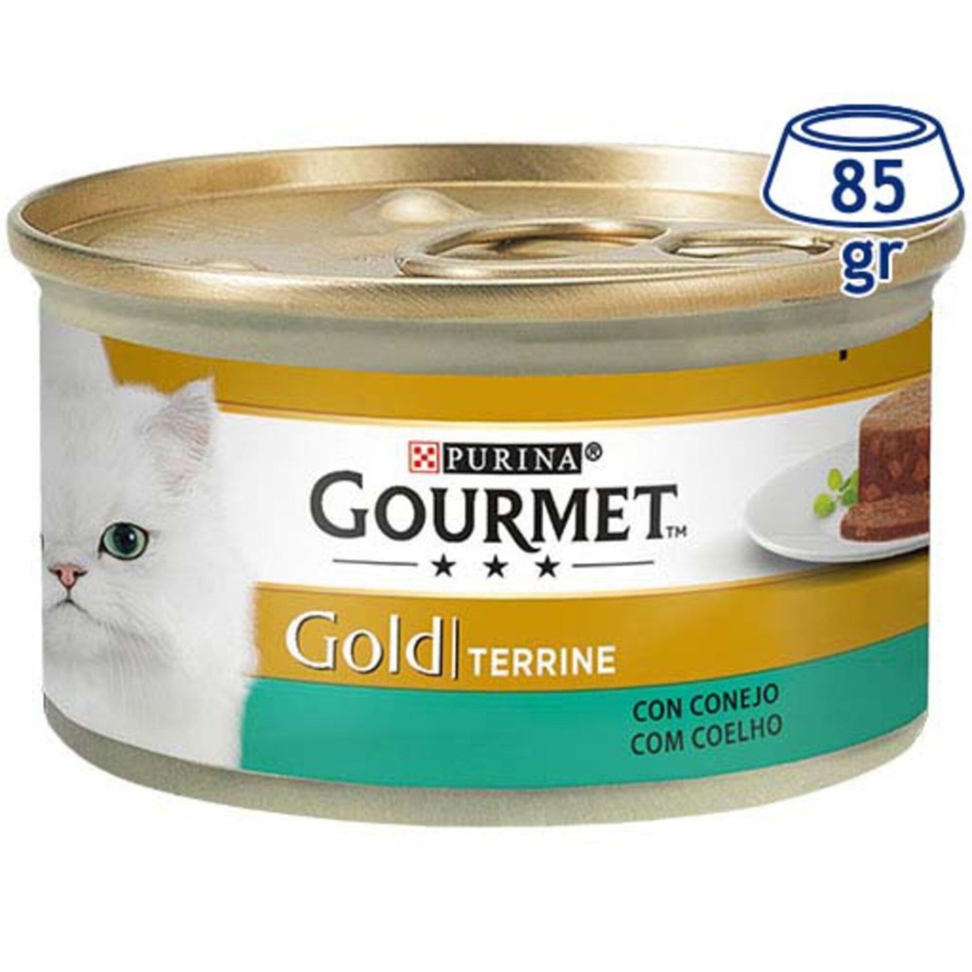 Comida Húmida para Gato Gold Terrine com Coelho