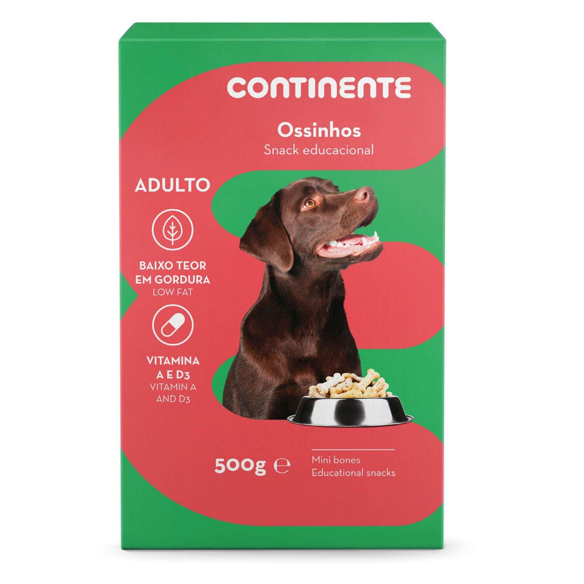 Snack para Cão Adulto Ossinhos