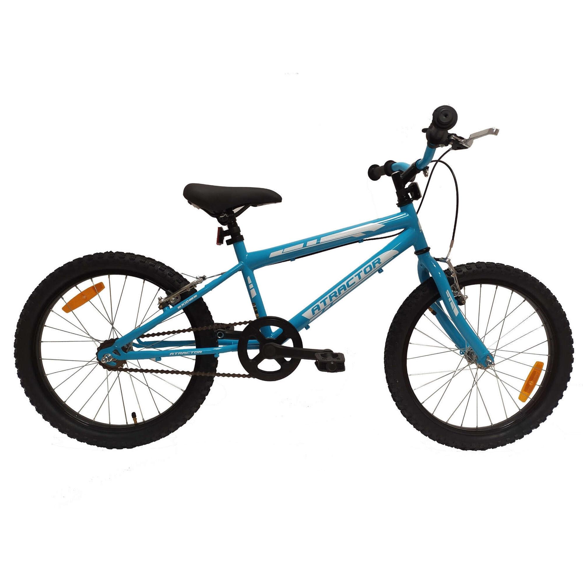 Bicicleta Júnior Roda 20'' 7-9 Anos Azul