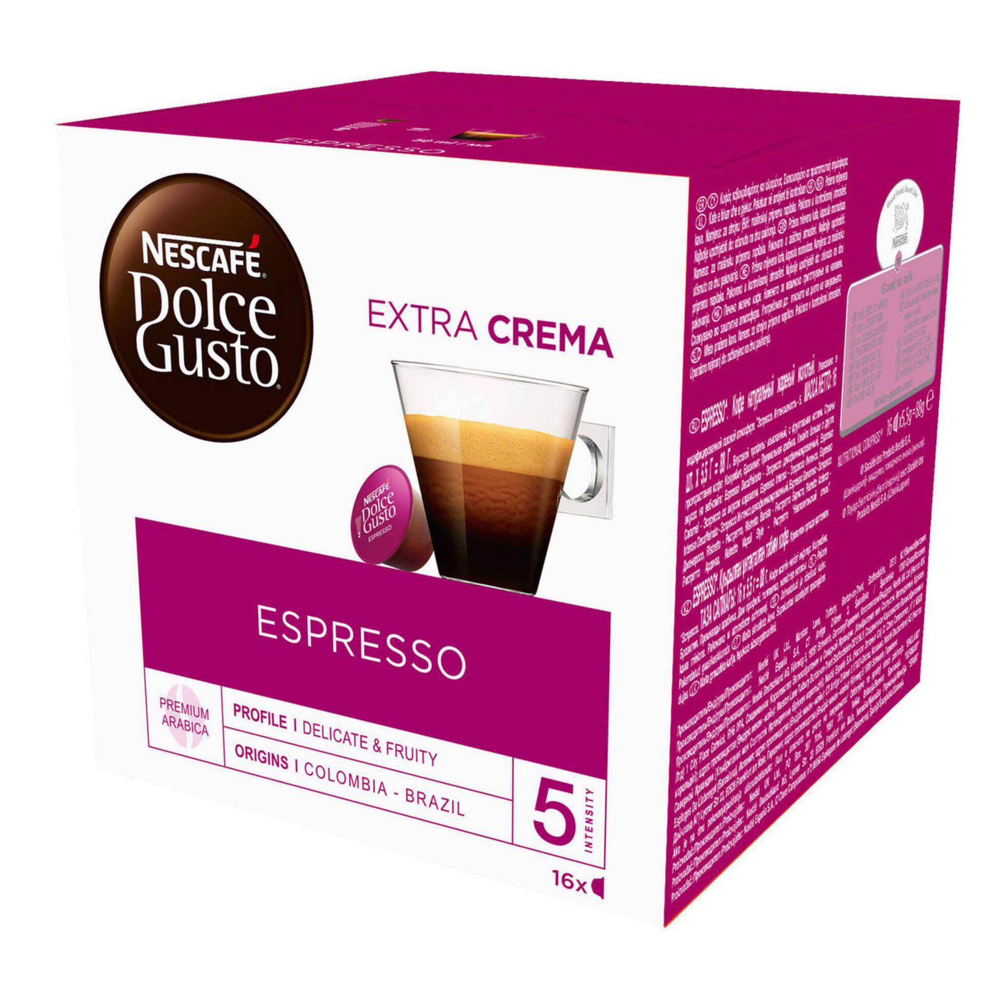 Cápsulas de Café Espresso Int 5