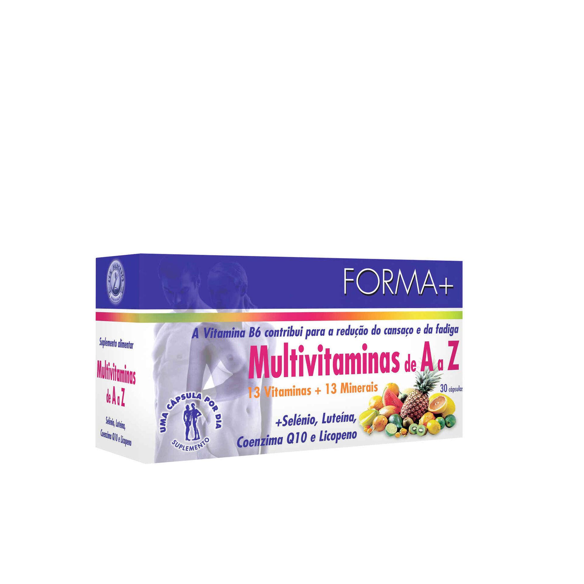 Suplemento Alimentar Forma Multivitaminas A-Z Cápsulas