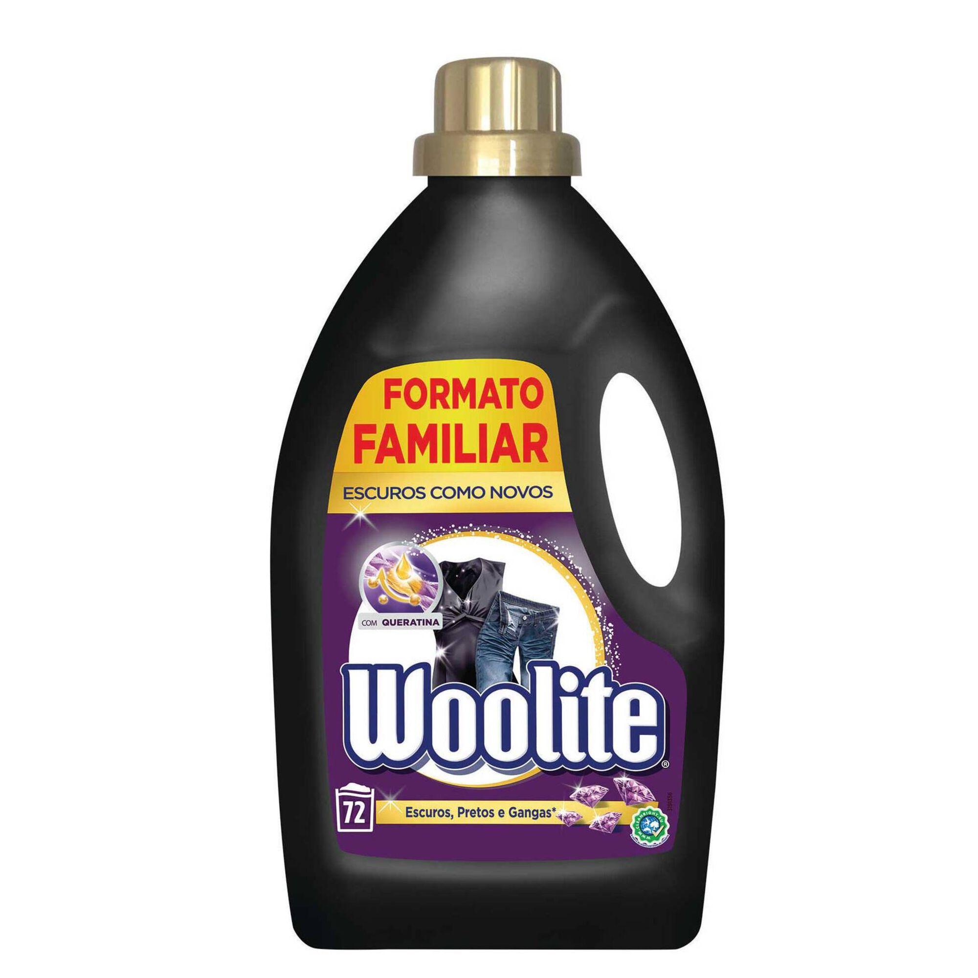 Detergente Máquina Roupa Líquido Escuros