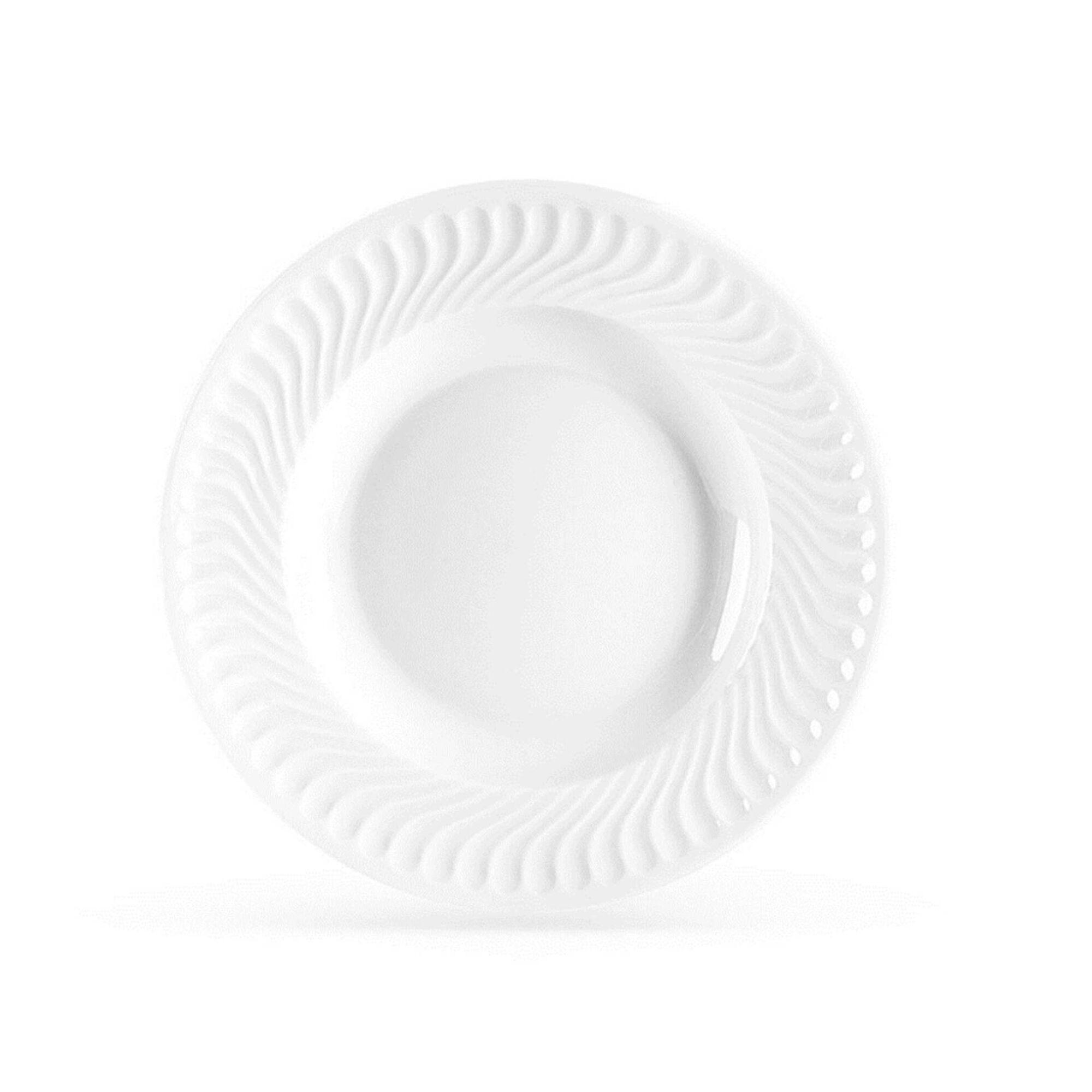 Prato Sopa 23cm Branco Sagres