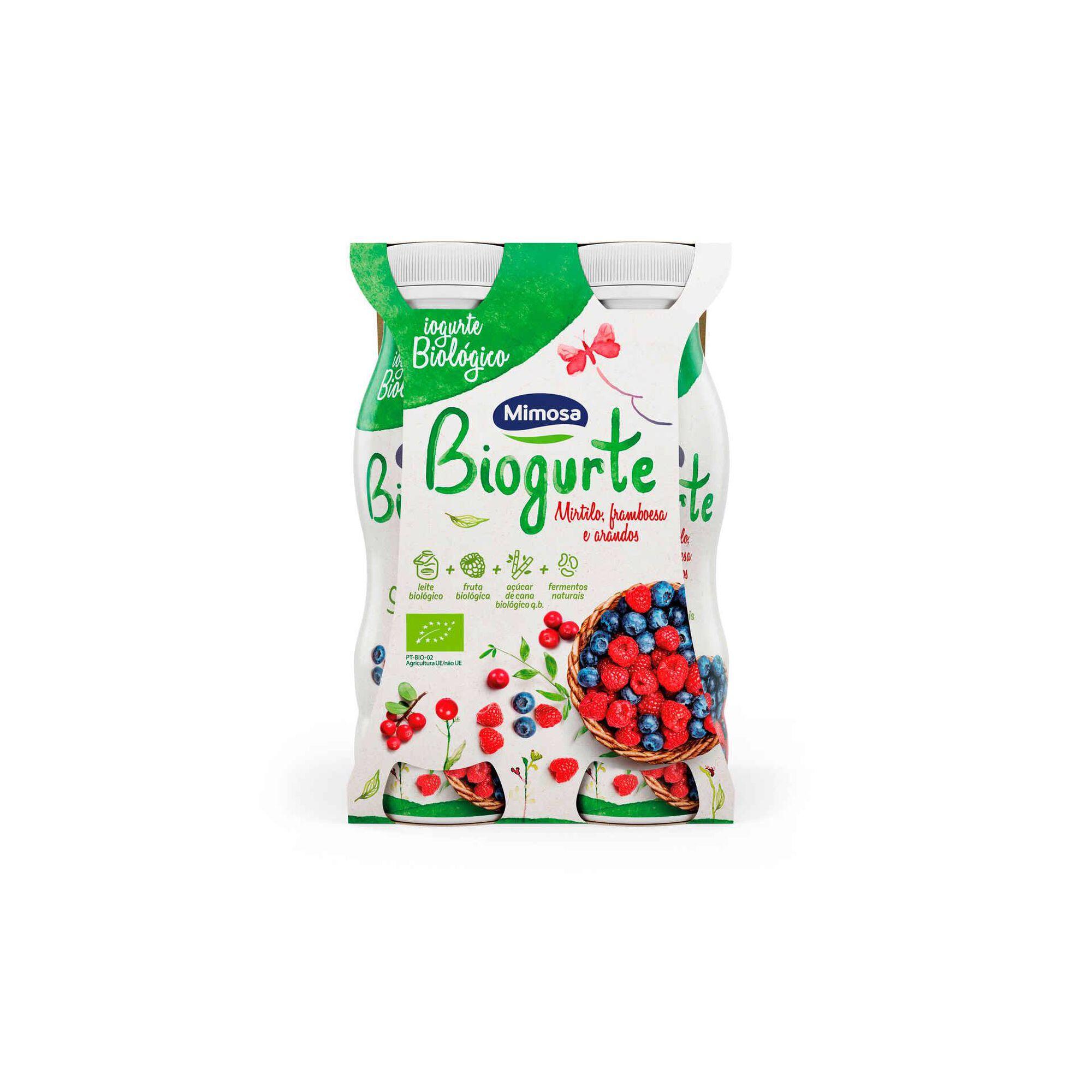 Iogurte Líquido Mirtilo Biológico