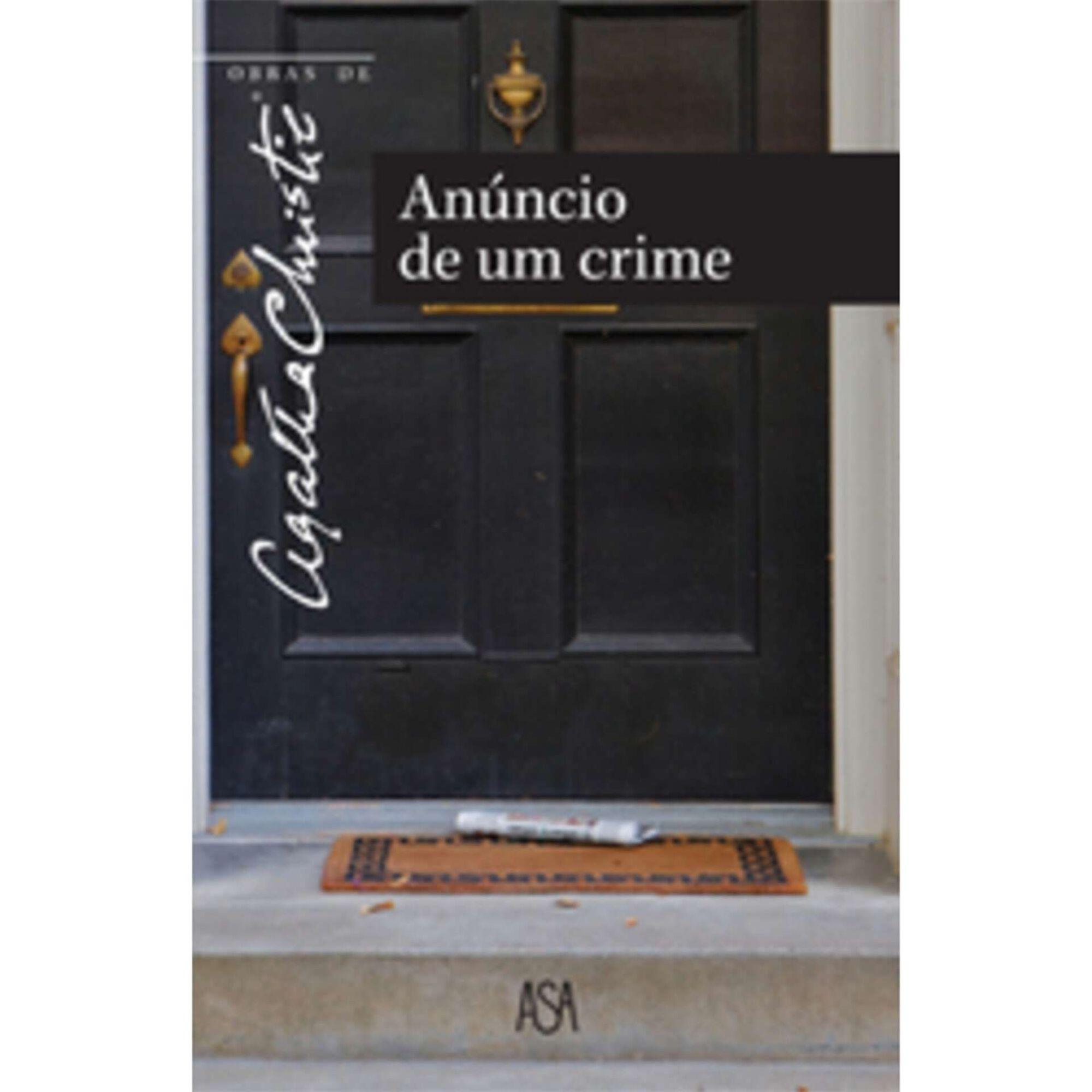 Obras de Agatha Christie - Anúncio De Um Crime (volume 8)