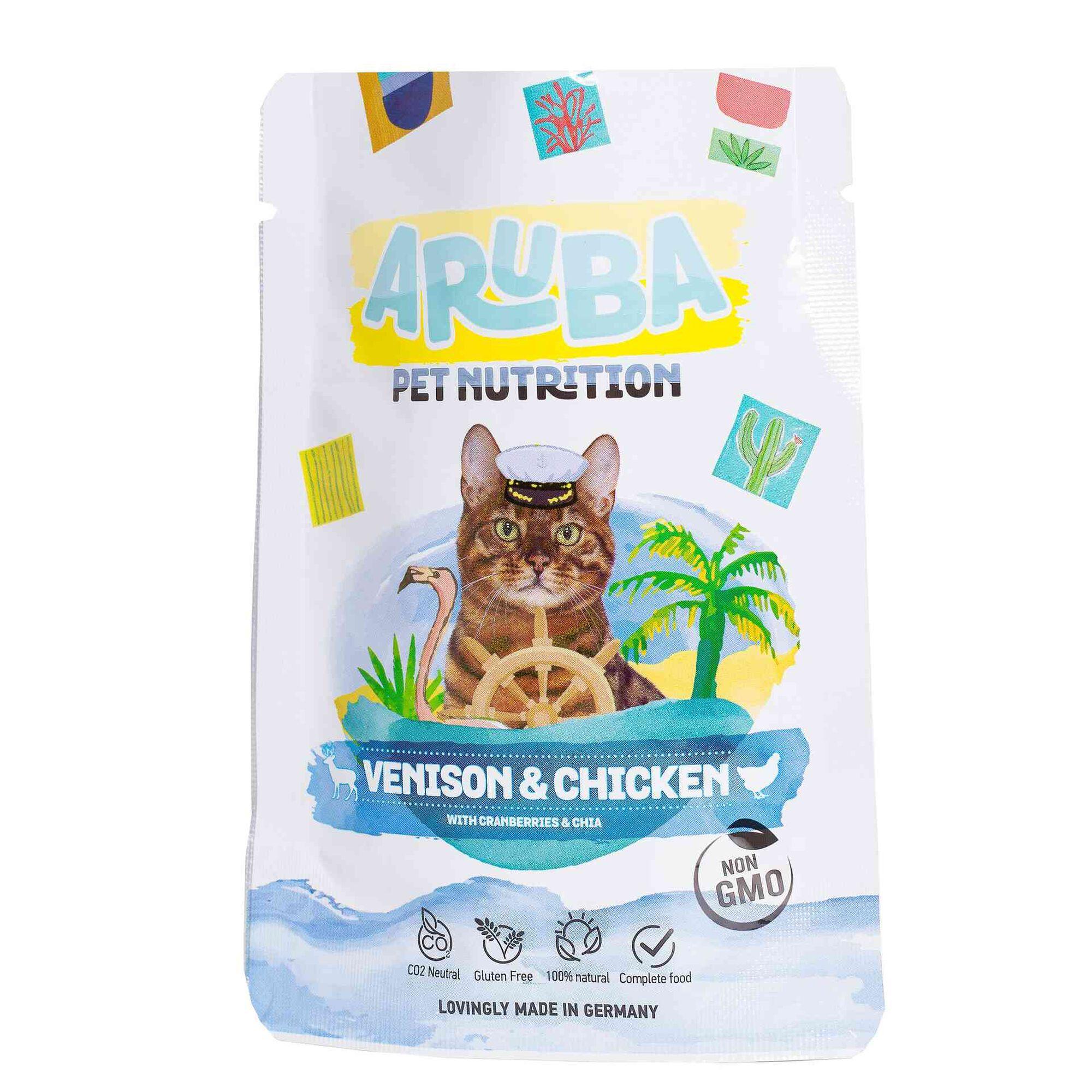 Comida húmida para Gato Veado