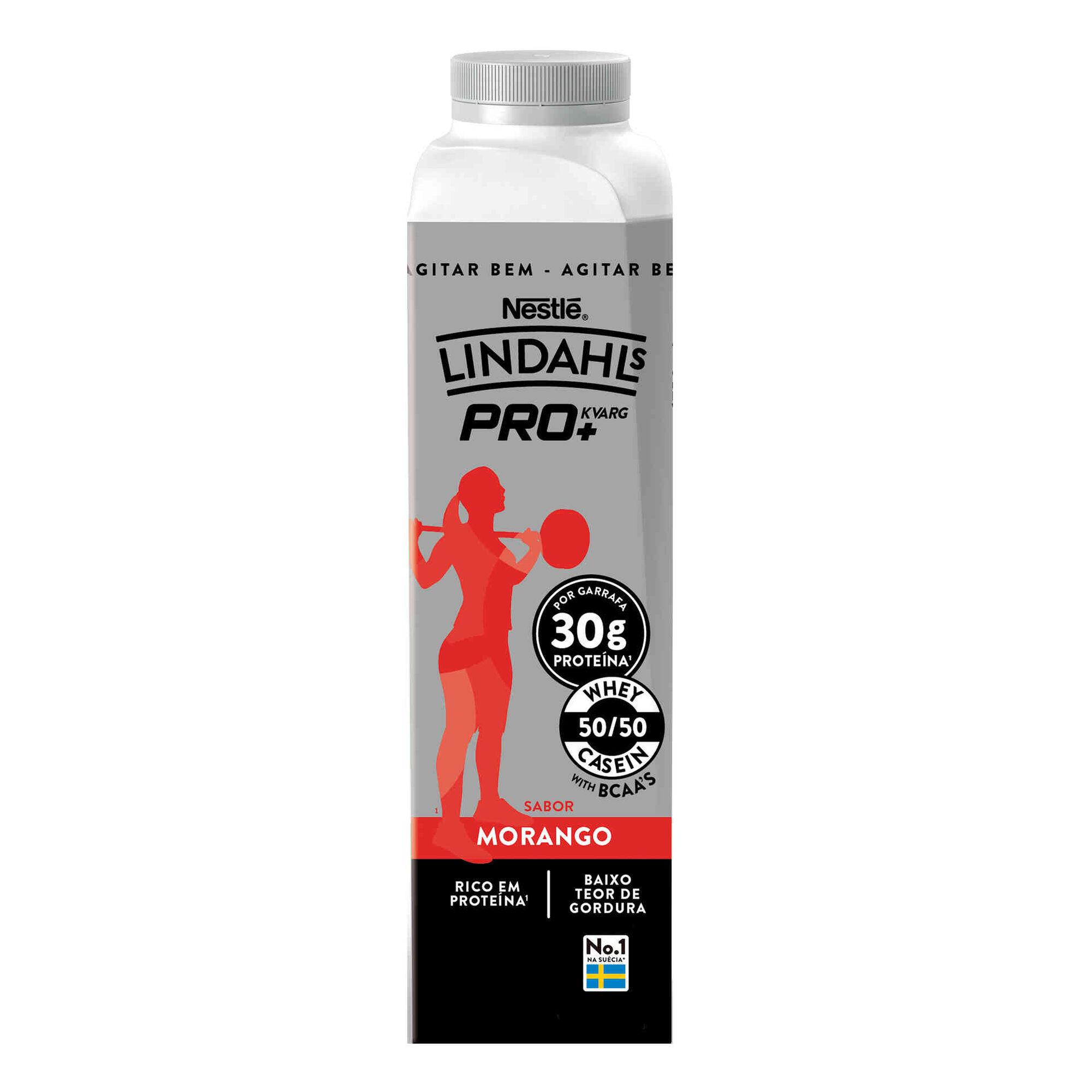 Iogurte Líquido Proteína Morango Pro+