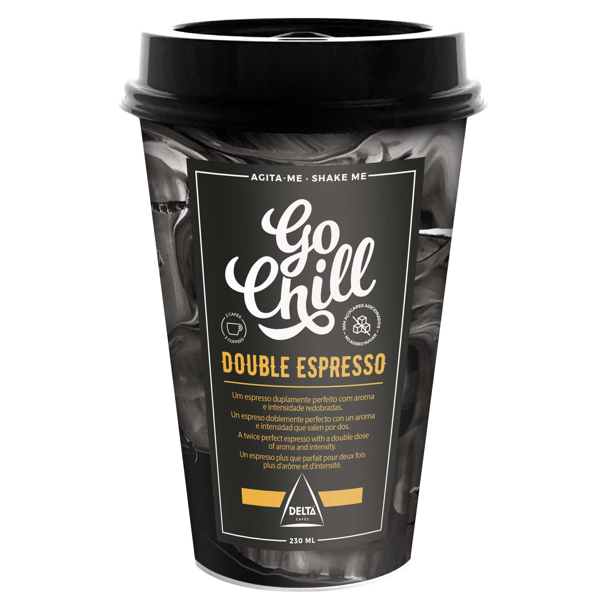 Double Espresso Go Chill