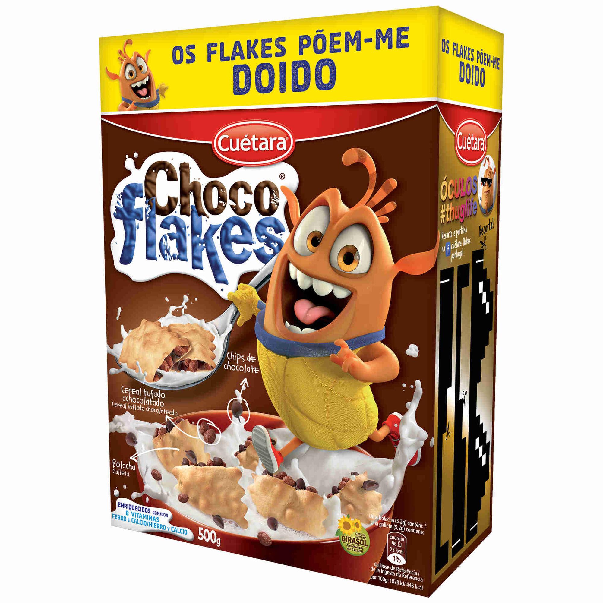 Bolachas Recheadas Choco Flakes