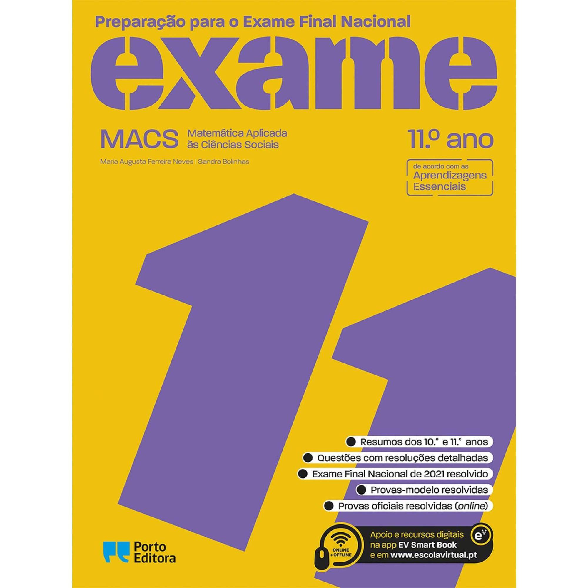 Preparação para o Exame Nacional - Macs - 11º Ano