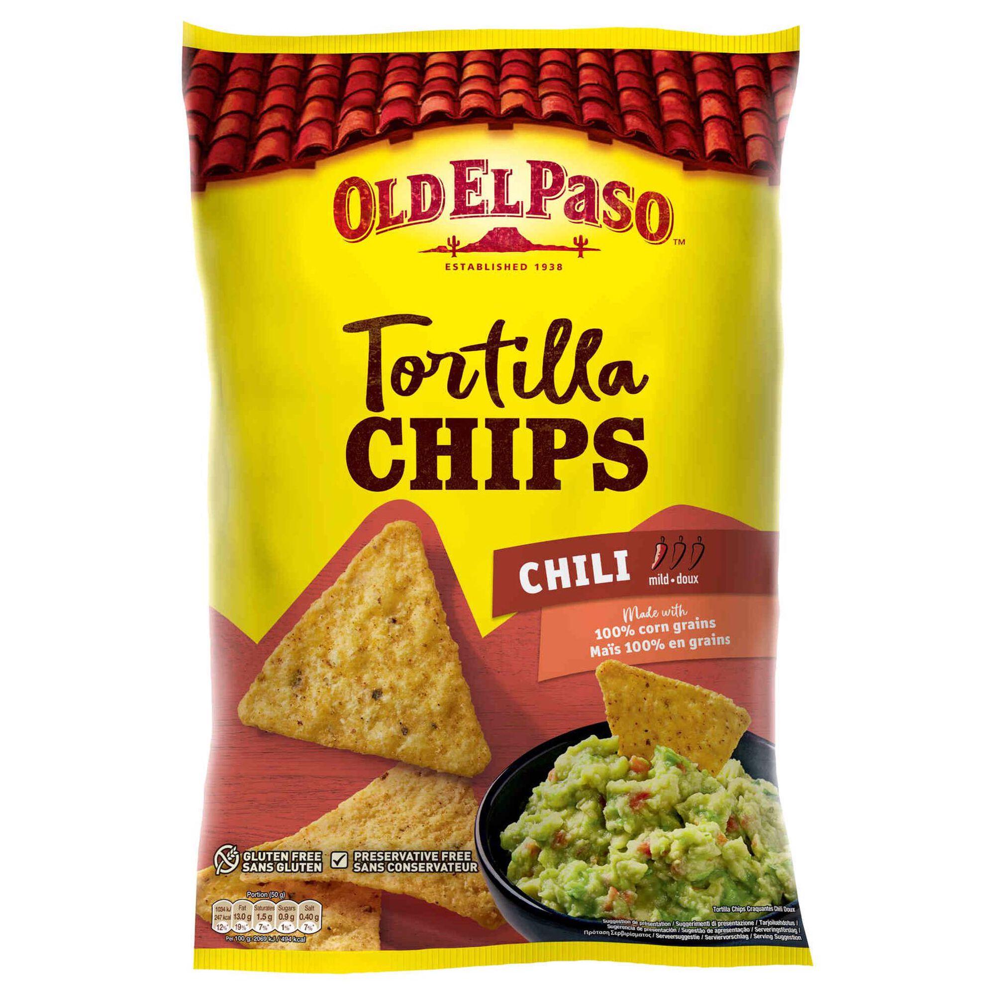Snacks Tortilha Chips Chili