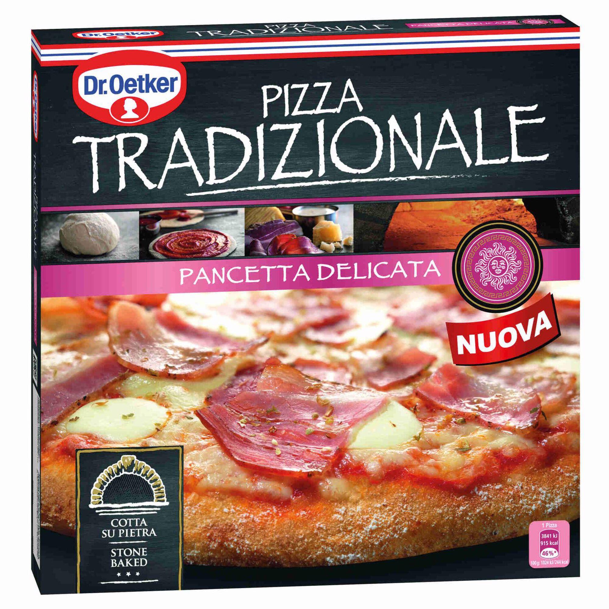 Pizza Tradizionale de Bacon