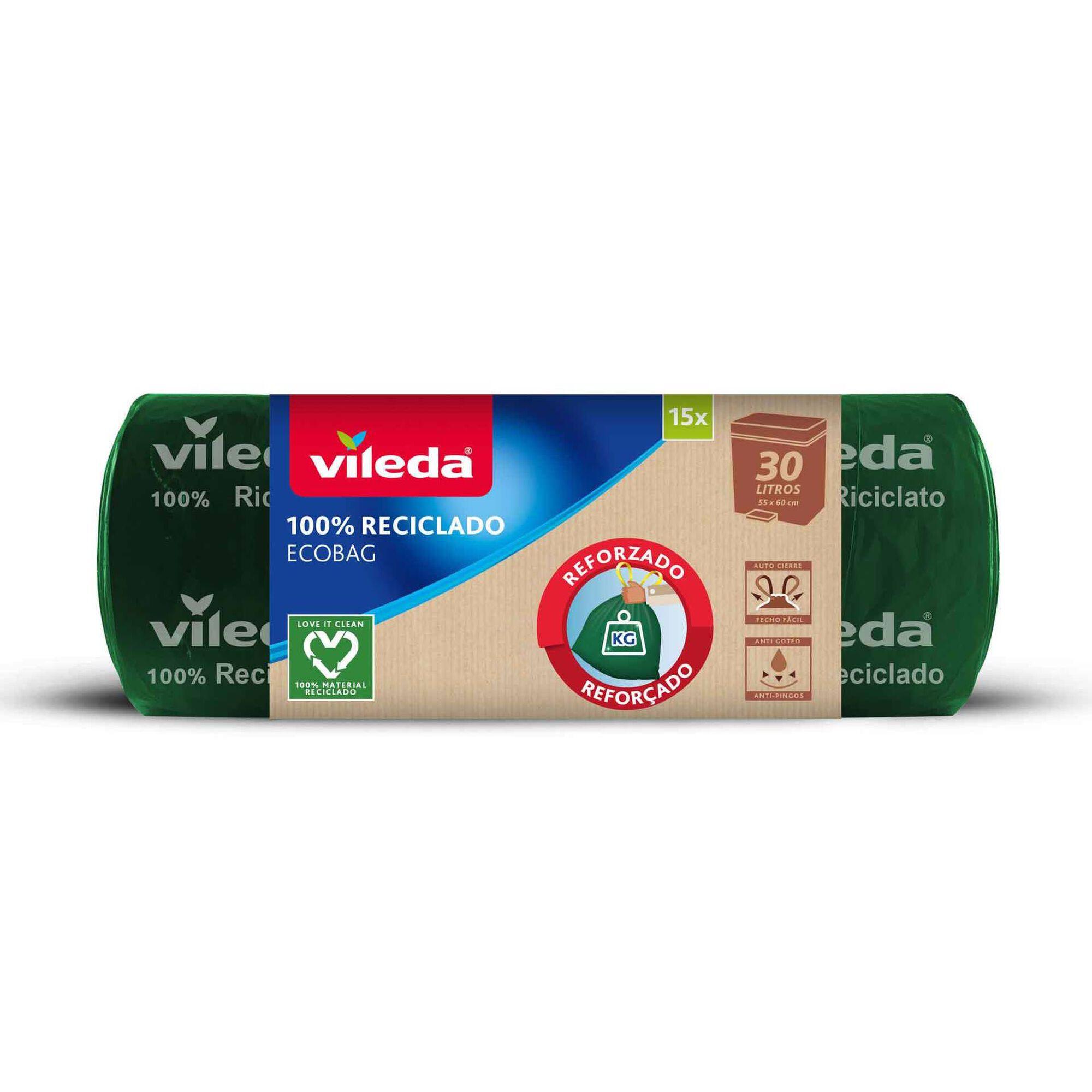 Sacos Lixo Ecobag 100% Reciclável 30 lt