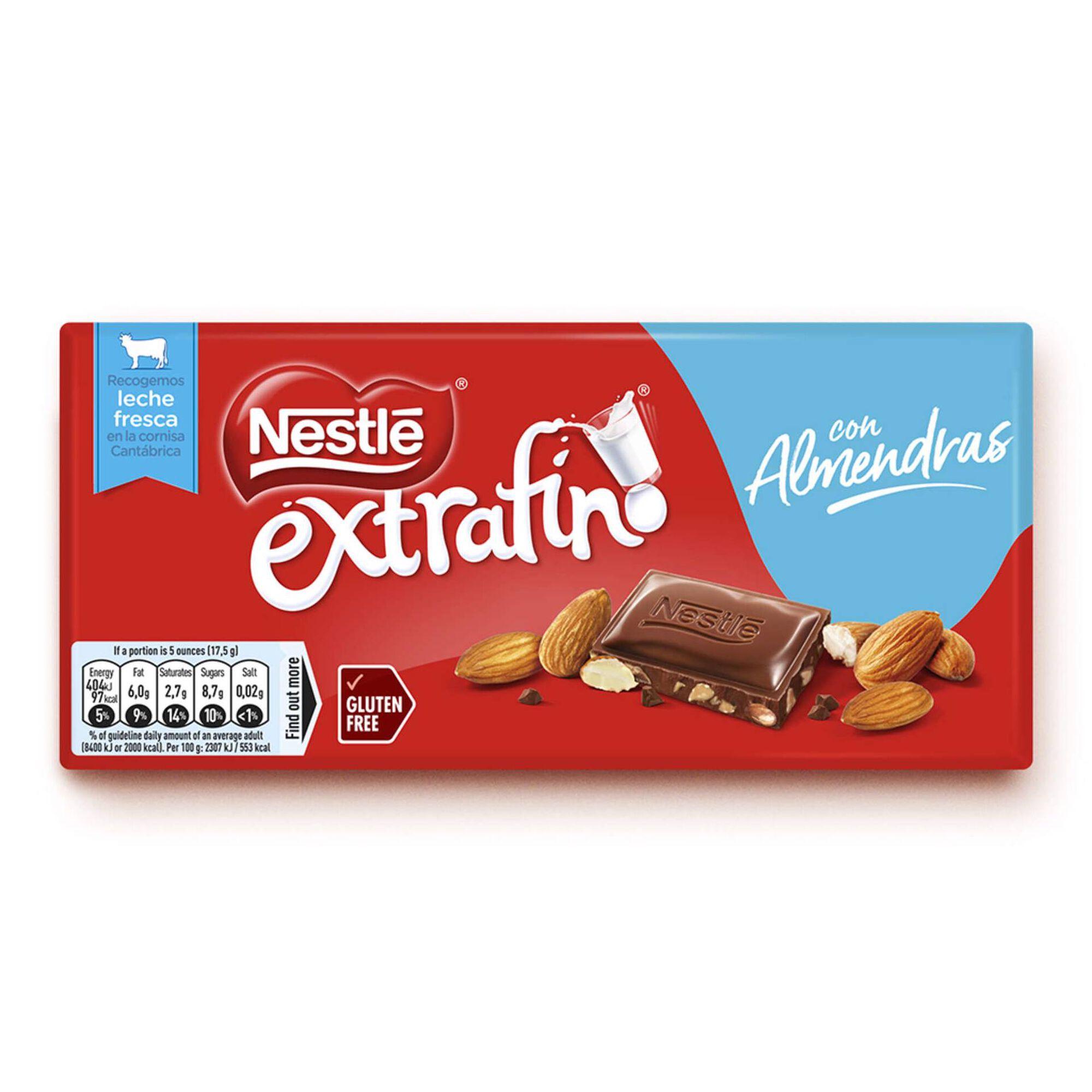 Tablete de Chocolate de Leite com Amêndoa Extrafino sem Glúten