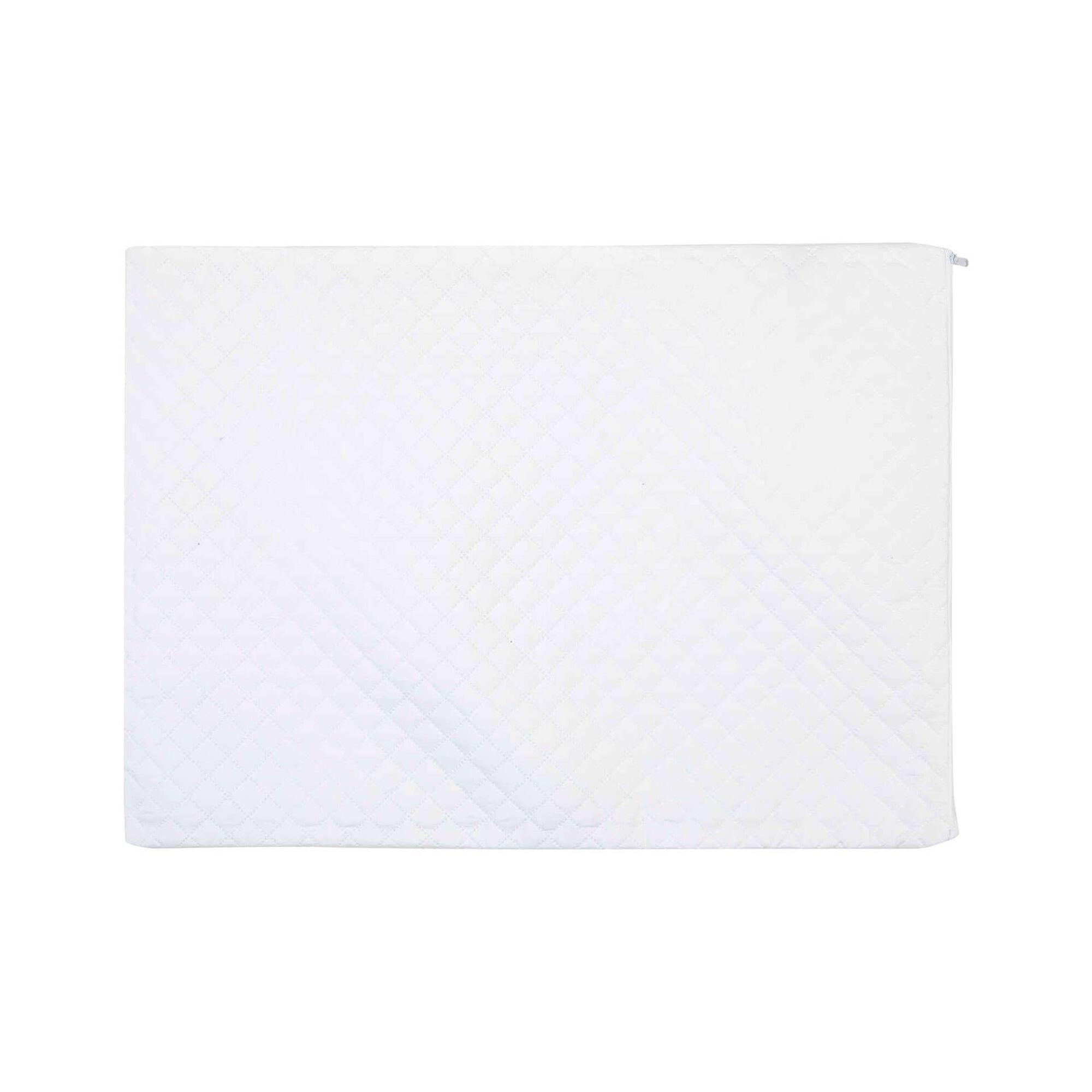 Protetor Almofada Acolchoado com Fecho 45x60cm Branco