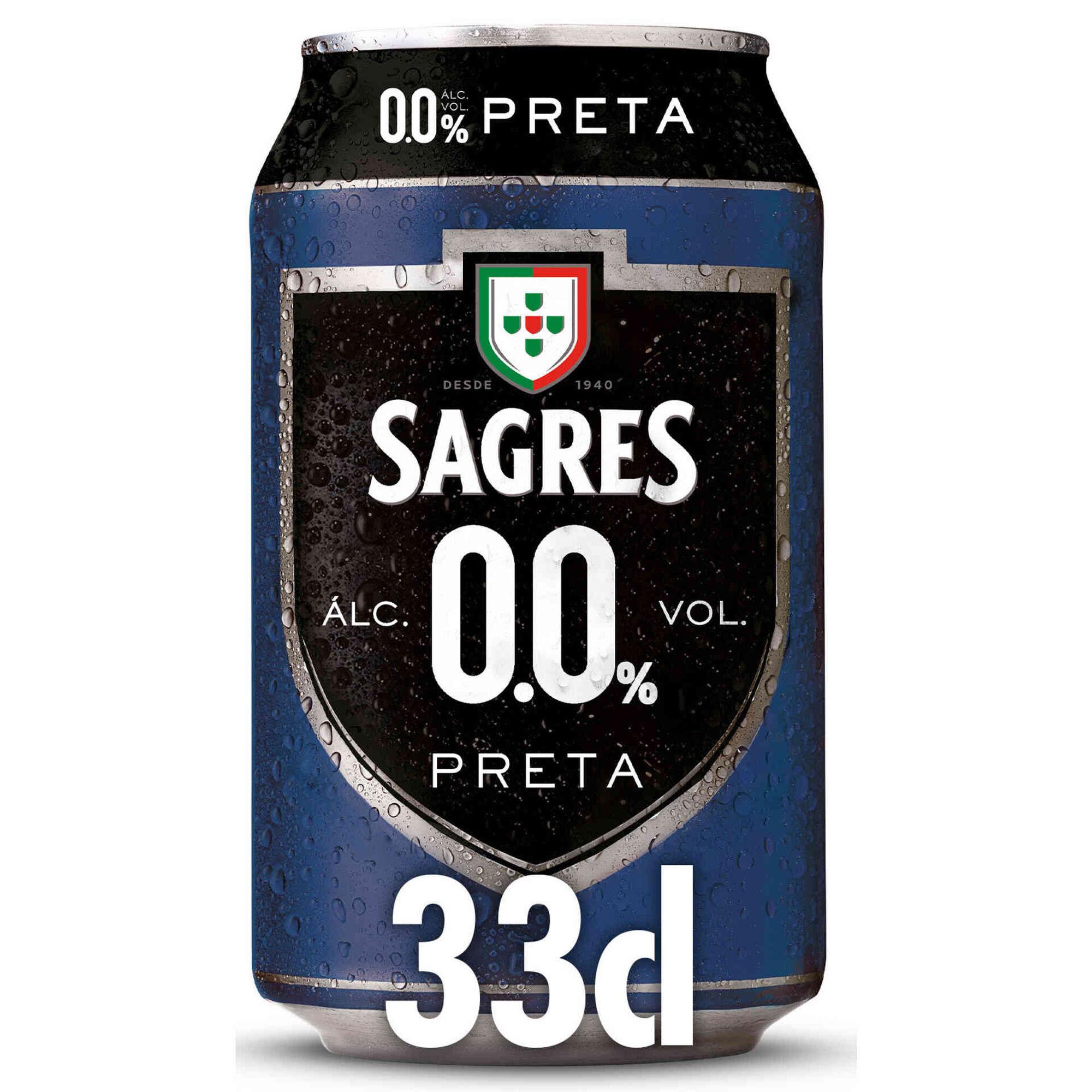 Cerveja sem Álcool 0,0% Preta Lata