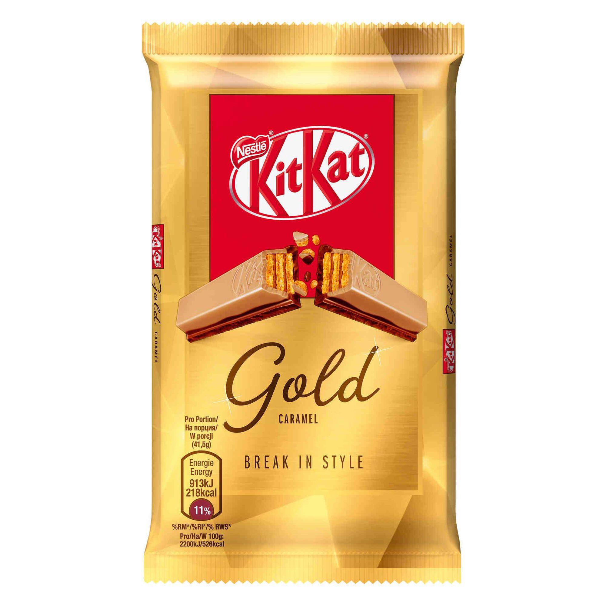 Snack de Chocolate KitKat Gold