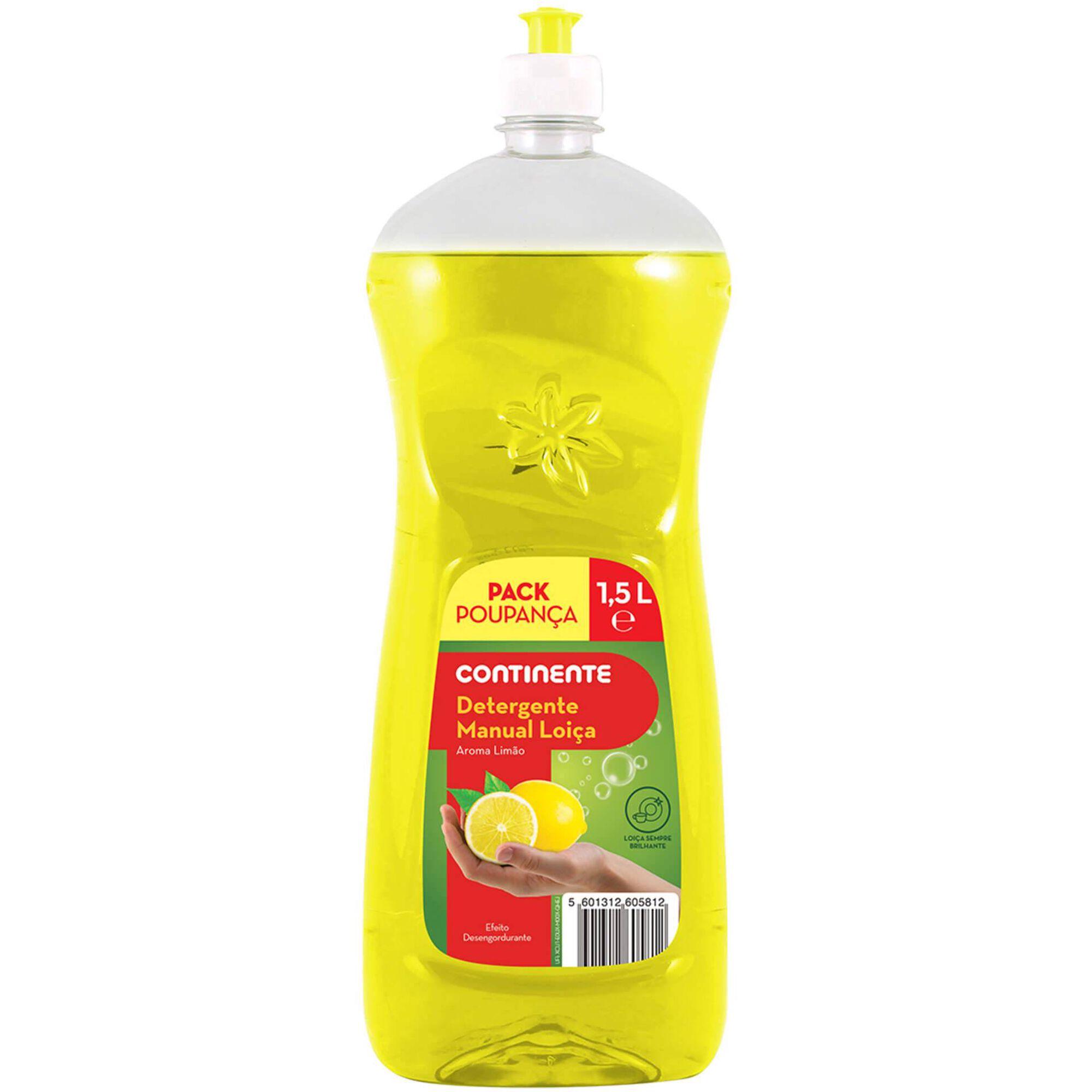 Detergente Manual Loiça Limão Pack Poupança