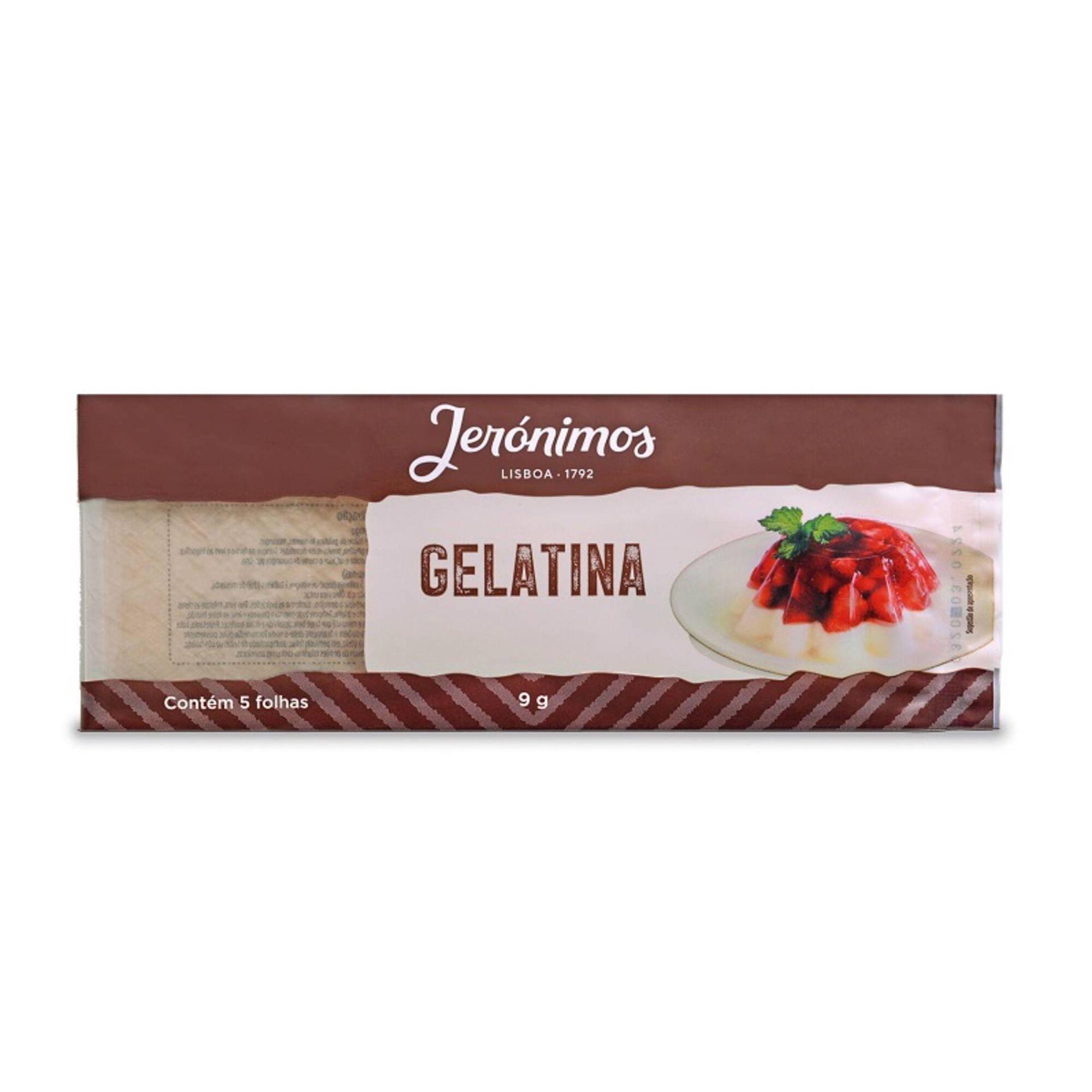 Gelatina 5 Folhas