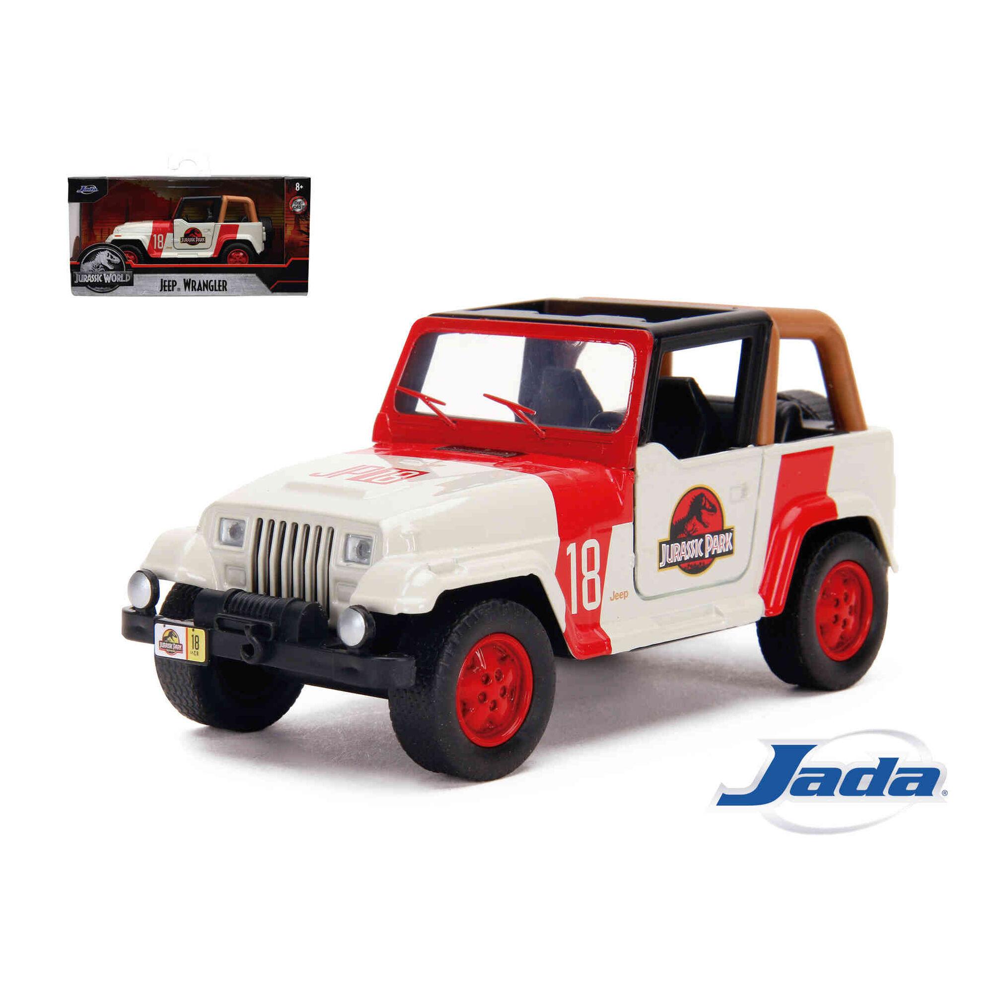 Jurassic Park Jeep Wrangler 1:32