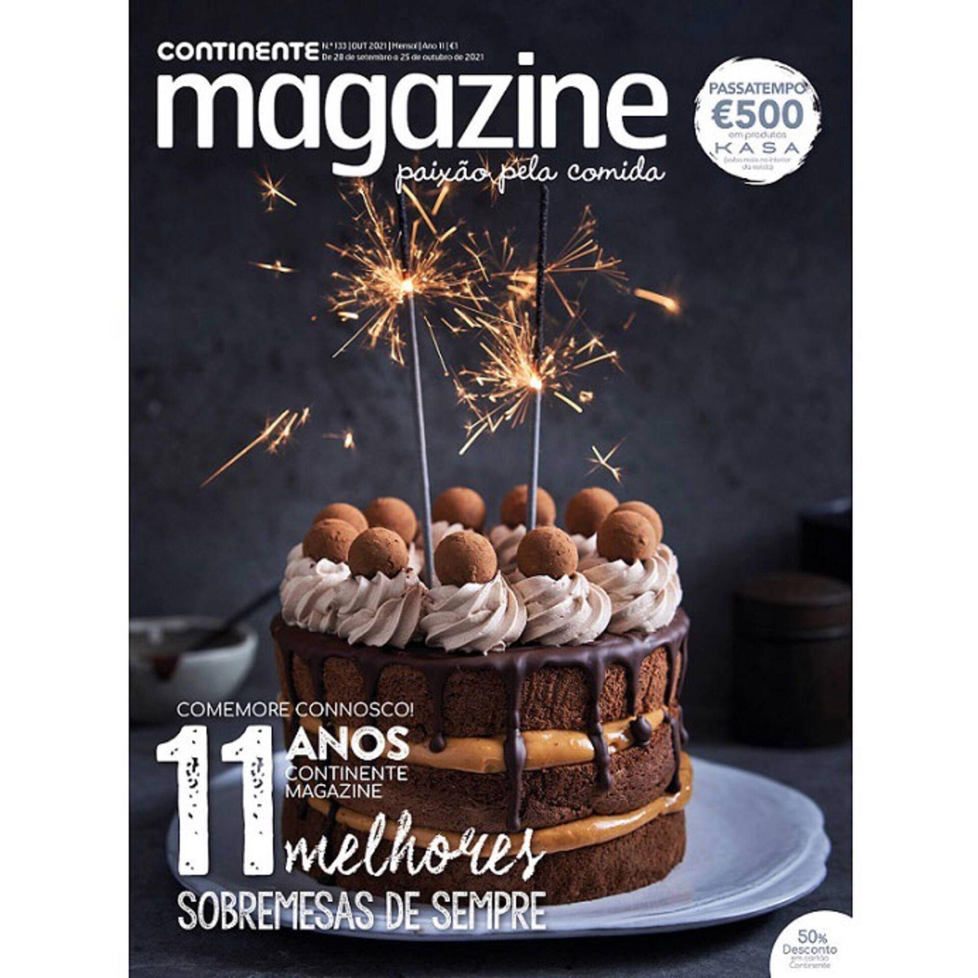 Continente Magazine de outubro