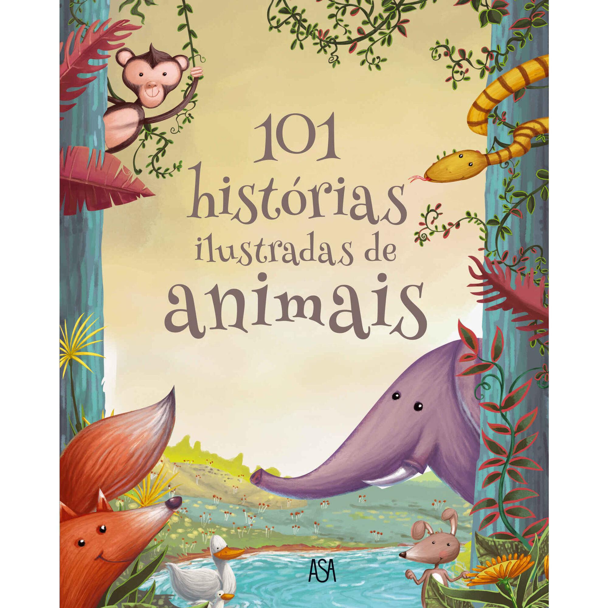 101 Histórias Ilustradas de Animais