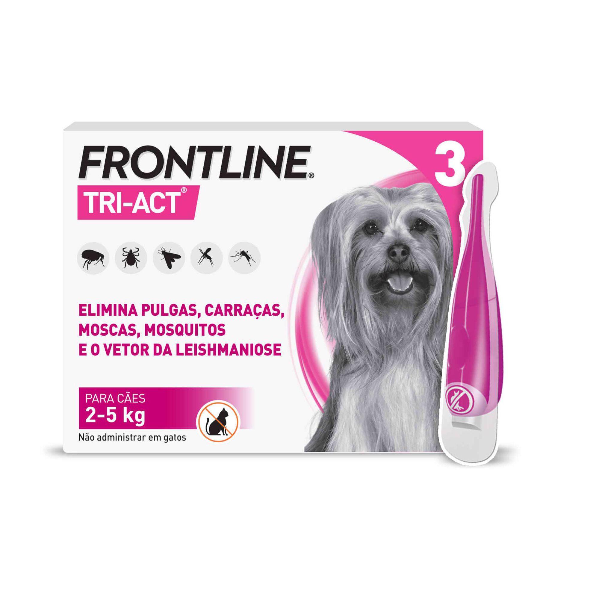 Desparasitante Externo para Cão XS Pipeta 2 - 5kg