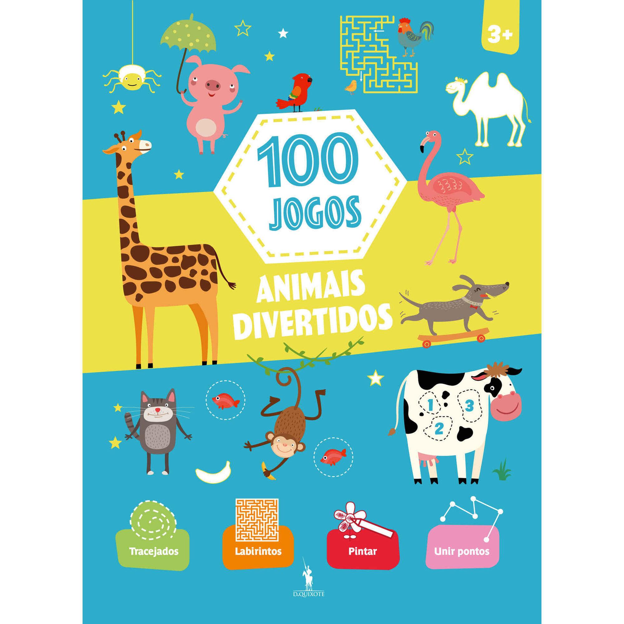 100 Jogos - Animais Divertidos
