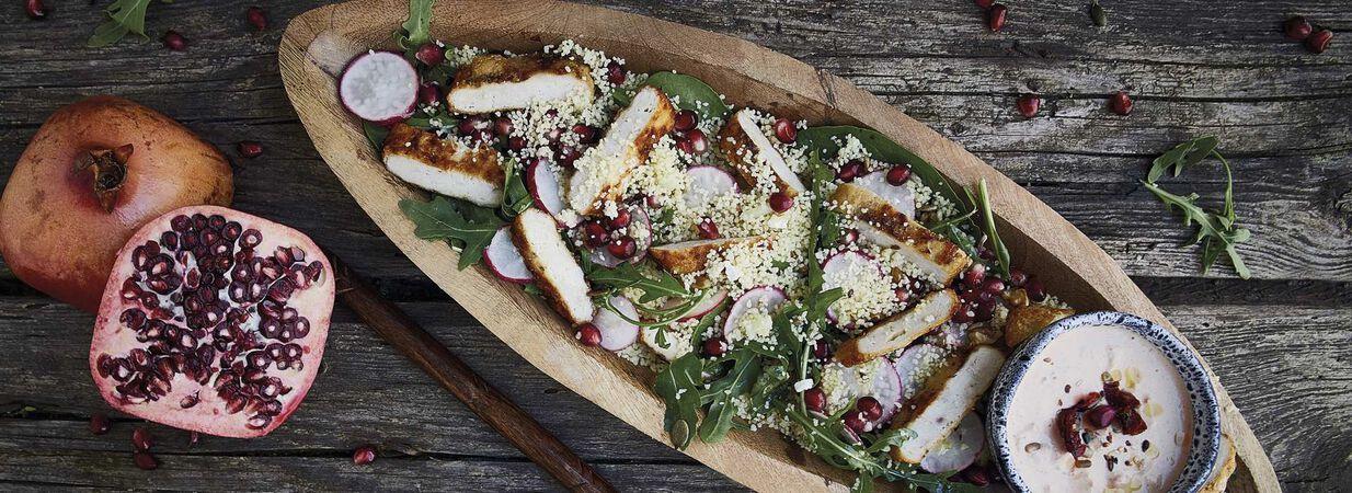 Salada de Frango Iglo com Couscous