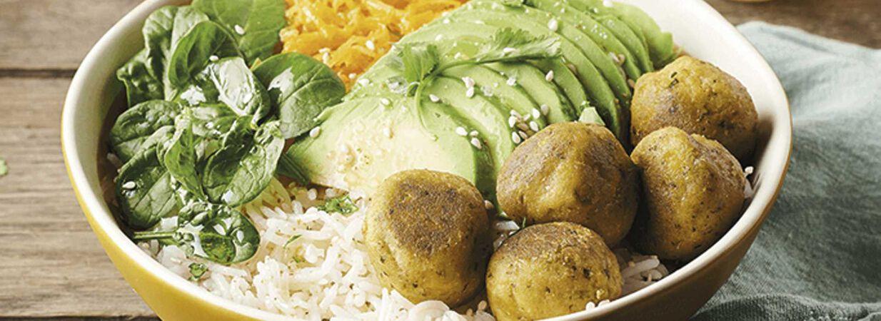 Budha Bowl Vegetariano com Falafel