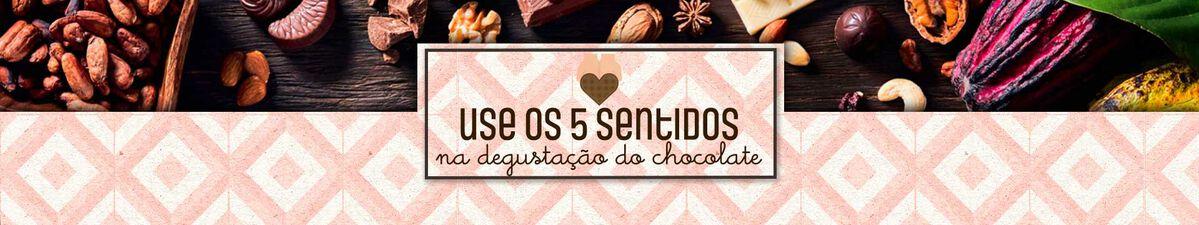 Degustação do chocolate