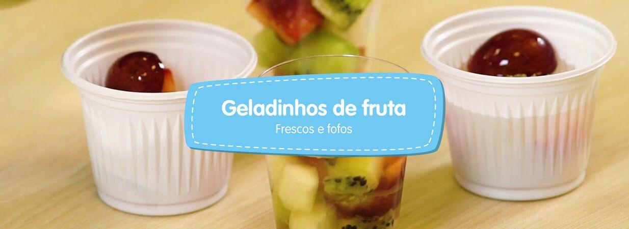 Geladinhos de Frutas