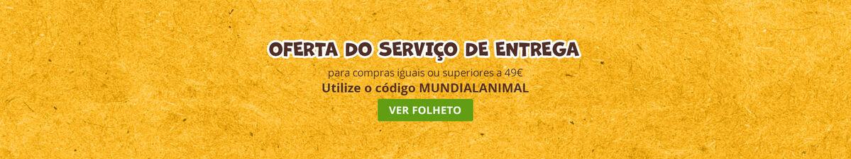 Oferta do serviço de entrega para compras iguais ou superiores a 49€