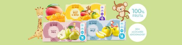 Purés de Fruta