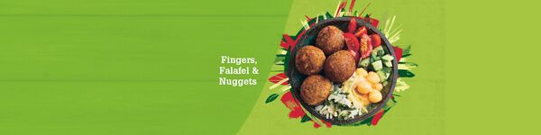 Falafel, Fingers e Nuggets