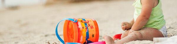 Baldes e Brinquedos de Praia