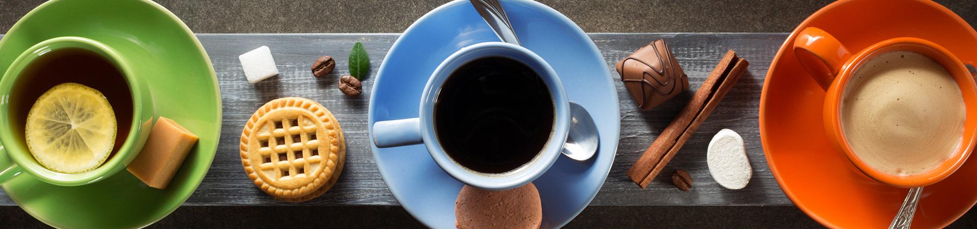 Cafés, Chás e Achocolatados