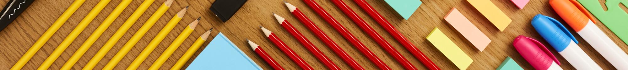 Lápis, Canetas e Borrachas